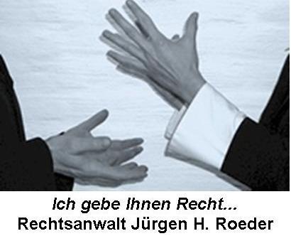 Rechtsanwalt Jürgen H. Roeder